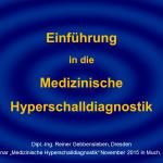 8 Medizinische Hyperschalldiagnostik