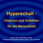 Hyperschall - Chancen und Gefahren
